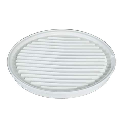 Nordic Ware 62404 Microwave 2-Sided Bacon/Meat Grill & Pizza Tray