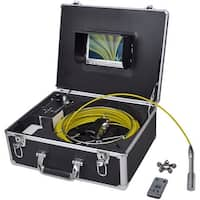 vidaXL Pipe Inspection Camera with DVR Control Box 98.4' Wire
