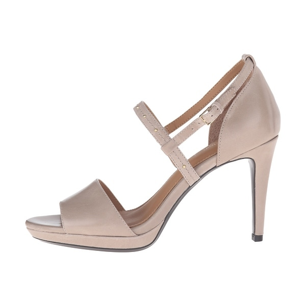 Calvin Klein Womens PIANNA SIRIANA Open Toe Special Occasion Ankle Strap Sand...
