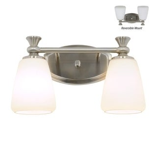 Miseno MLIT136656 Santi 2-Light Bathroom Vanity Light - Reversible Mounting Option