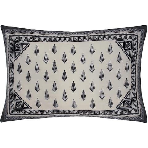 Elegant Retro Chic Moises Silk Pillow