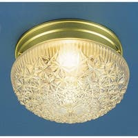 "Volume Lighting V7016 1 Light 7.5"" Width Flush Mount Ceiling Fixture"