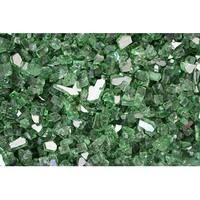 AZ Patio RFGLASS-RGRN Reflective Fireglass in Green