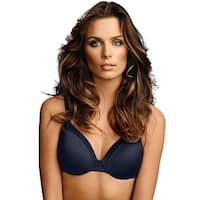 Maidenform® Comfort Devotion® Tailored Extra Coverage T-Shirt Bra - Size - 34DD - Color - Navy