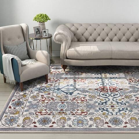 "Bohemian Rug Vintage for Living Room, Bedroom ,Dinner Room Area Rugs - 5'54"" x 9'"