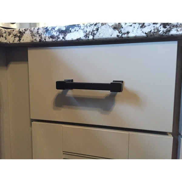 southern hills black cabinet drawer pulls with 4inch screw spacing set of 10 free shipping today