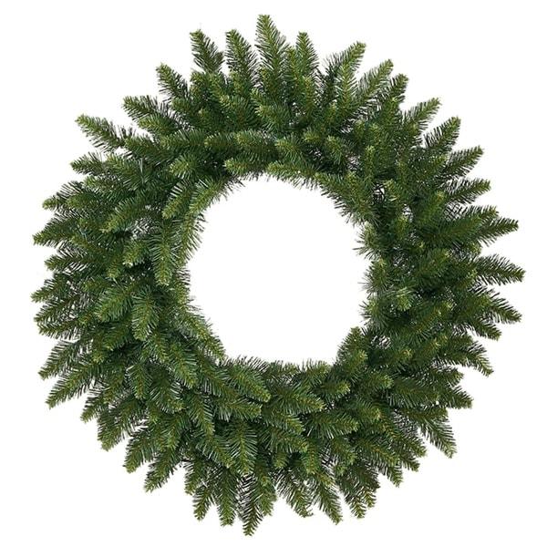 12' Camdon Fir Commercial Size Artificial Christmas Wreath - Unlit - green