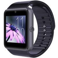 Kanstar Smartwatch GT08 Bluetooth Smart Watch Phone with Sim Card Solt anti-lost Call reminder Phone Mate (Black)
