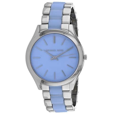 Michael Kors Women's Slim Runway Blue Dial Watch - MK4549 - One Size