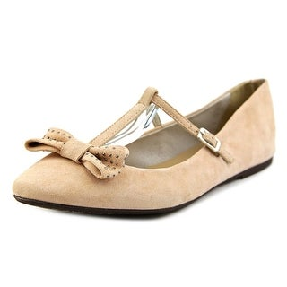 Penelope 1705 Round Toe Suede Flats