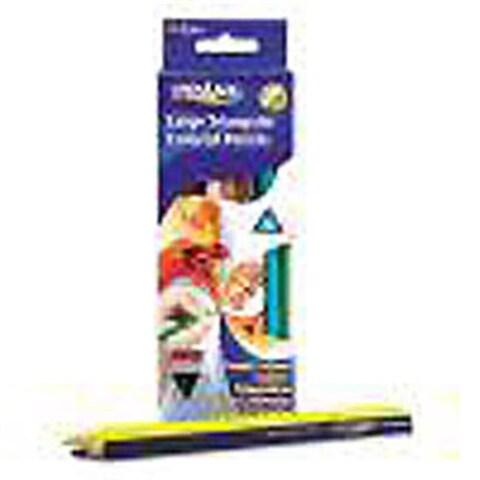 Prang 25120 Prang Large Triangular Color Pencils 12 Count