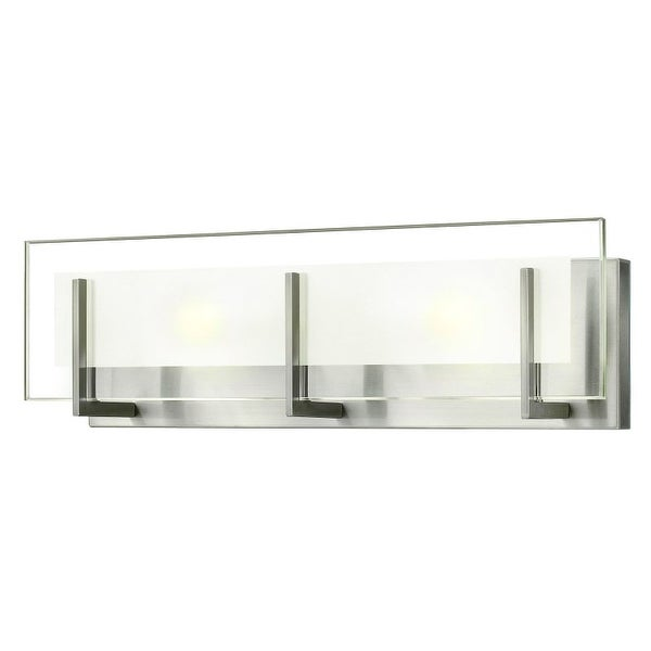 "Hinkley Lighting 5652 2 Light 18"" Width ADA Compliant Bath Bar from the Latitude Collection"