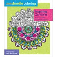 St. Martin's Books-Zendoodle Coloring: Inspiring Zendalas