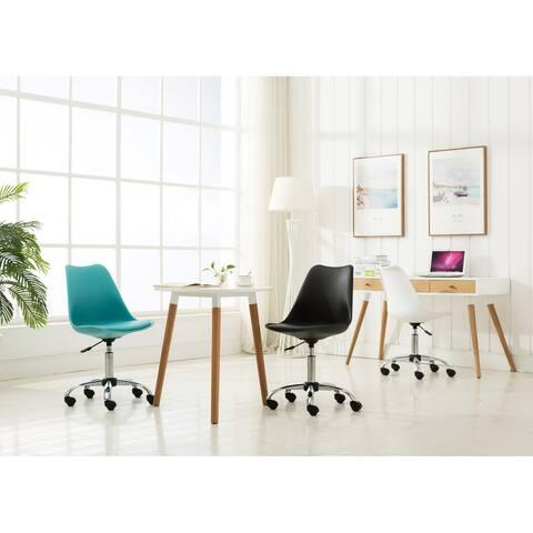Porthos Home Teresa Adjustable Office Chair