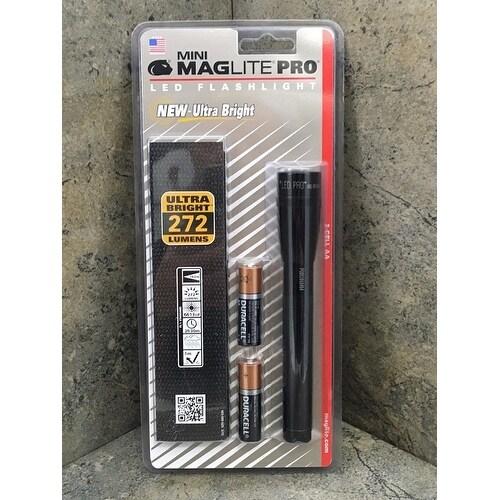 Mini Maglite Pro Led Black 2 Cell
