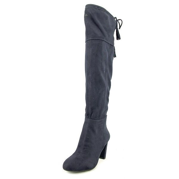 INC International Concepts Hadli Women Synthetic Blue Over the Knee Boot