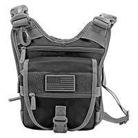 Tactical Sling Range Bag - Black