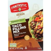 Fantastic World Foods Mix - Taco Filling - 3.7 oz - case of 6 - 2 Pack