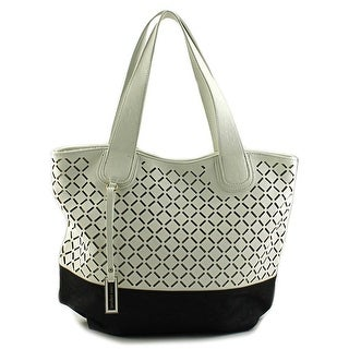 Urban Originals Coogee Perforated Tote Women Synthetic Tote - White