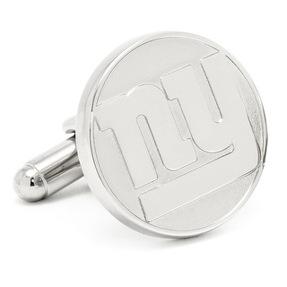 Silver Plated New York Giants Silver Edition Cufflinks