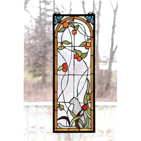 Meyda Tiffany 67117 Stained Glass Tiffany Window from the Arts &