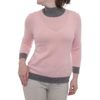 Cullen 3/4 Sleeve Turtleneck Sweater Women Regular Sweater