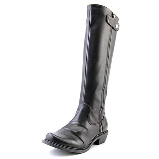 Mia Pali Women Round Toe Synthetic Black Knee High Boot