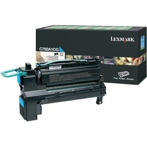 Lexmark - X792 Taa Cyan Extra High Yield Return Program Print Cartridge