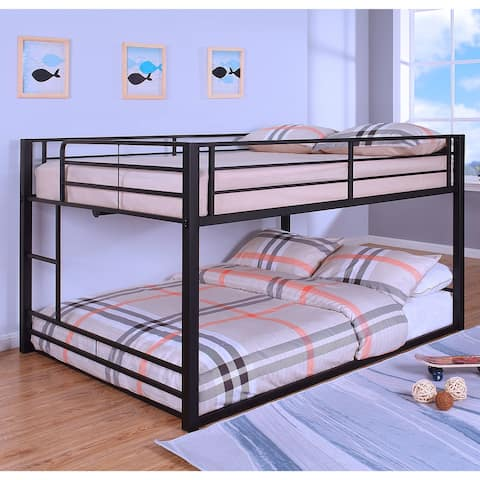 Furniture of America Drella Transitional Metal Bunk Bed