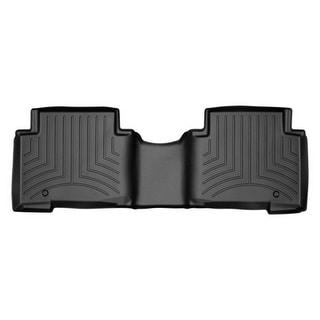 WeatherTech Hyundai Santa Fe 2013+ w/ 3rd Row Seating Black Rear Floor Mats FloorLiner 444403