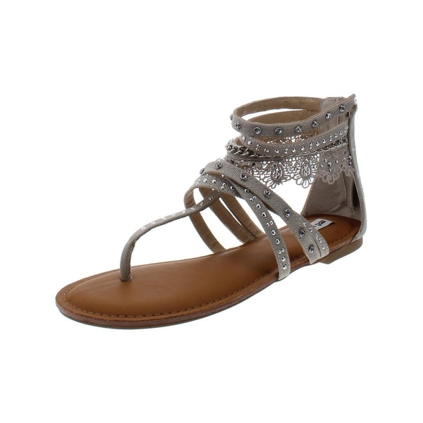 Not Rated Naughty Monkey Wilma Women/'s Lace Gladiator Sandals