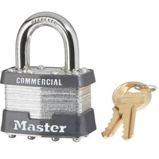 "Master Lock 3KALF 3210 Keyed-Alike Laminated Padlock, 1-1/2"""