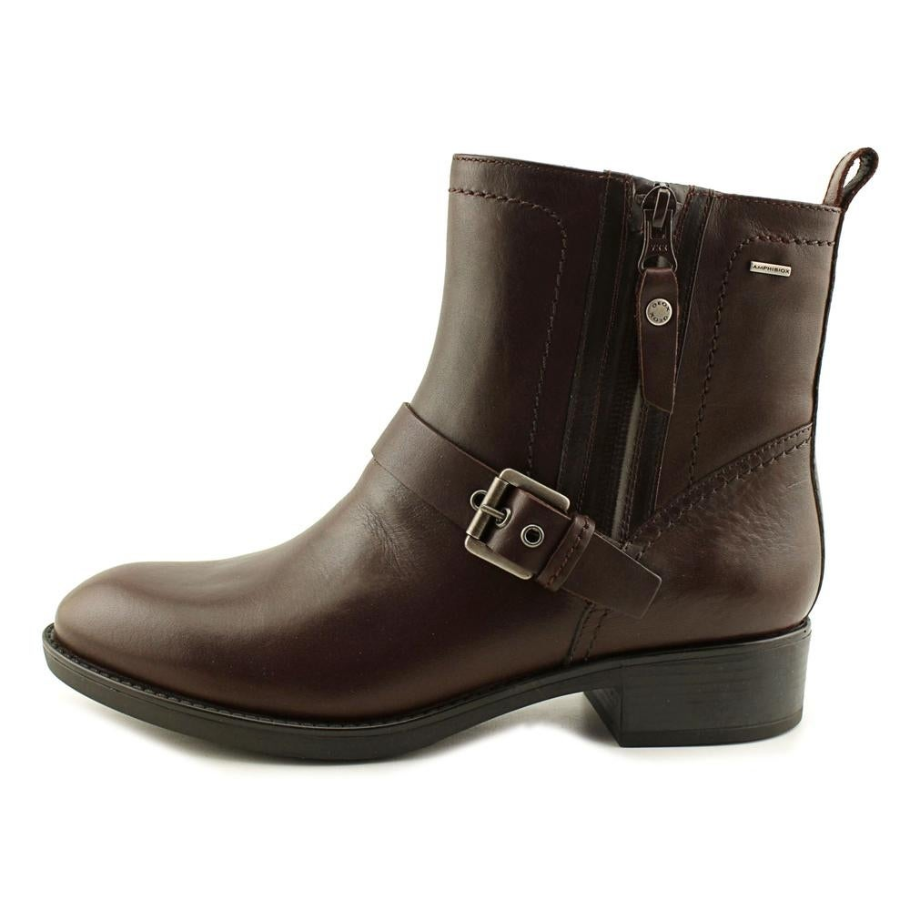 Geox Felicity ABX 12 Round Toe Leather Ankle Boot
