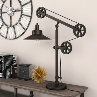 Link to Carbon Loft Melville Wide Brim Table Lamp Similar Items in Table Lamps