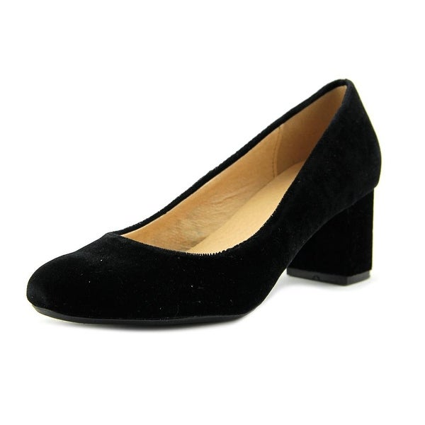 CL By Laundry Ada Women Round Toe Synthetic Black Heels