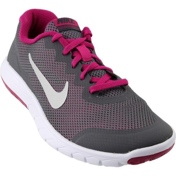 35c7cab12c1b Shop Nike Womens Flex Experience 4 Grade School Athletic   Sneakers ...