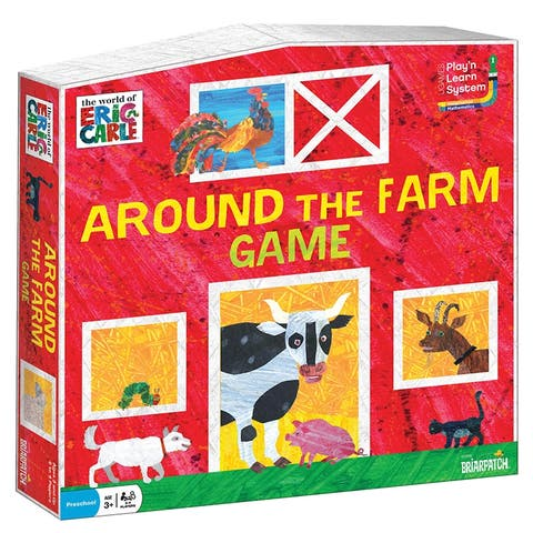Briarpatch eric carle around the farm game 01259