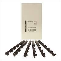 Disston E0100872 Blu-Mol 0.34 In. Diameter Black Oxide Jobber Length Drill Bit, 6 Pack