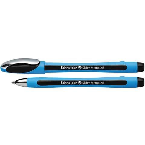(12 Ea) Schneider Black Memo Slider Xb Ballpoint Pen