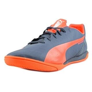 Puma Evospeed 4.4 IT Men  Round Toe Synthetic Blue Sneakers