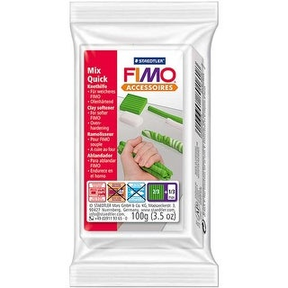 - Fimo Mix Quick Clay Softener 3.5Oz