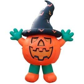 Holidayana Halloween Giant Pumpkin Man/ 10 FEET TALL / Halloween / Halloween Decorations