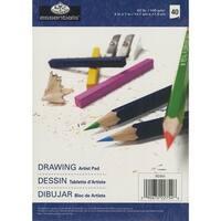 "40 Sheets - Essentials Drawing Artist Paper Pad 5""X7"""