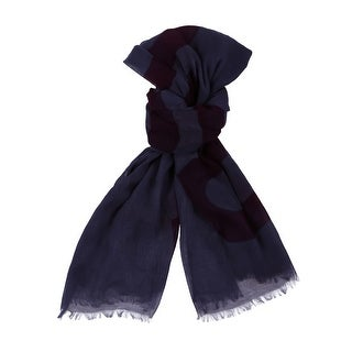 Moschino SCR11235/7 Blue Signature Scarf