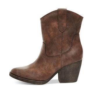 Madden Girl Women's Ramz Western Boot