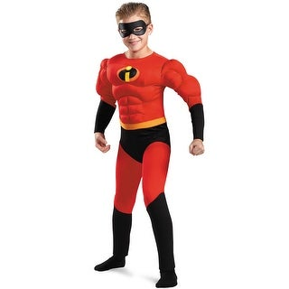 Disguise Dash Muscle Child Costume - Red
