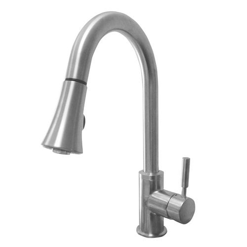 Artisan AF-650 Premium Single Handle Pullout Spray High-Arc Kitchen Faucet