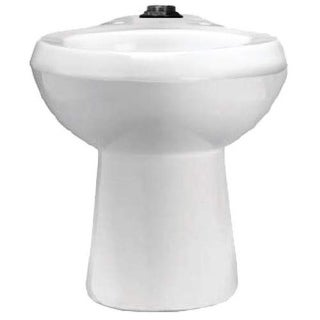 Sloan ST-2029-A-BPL One Piece Elongated ADA Toilet less Seat - White