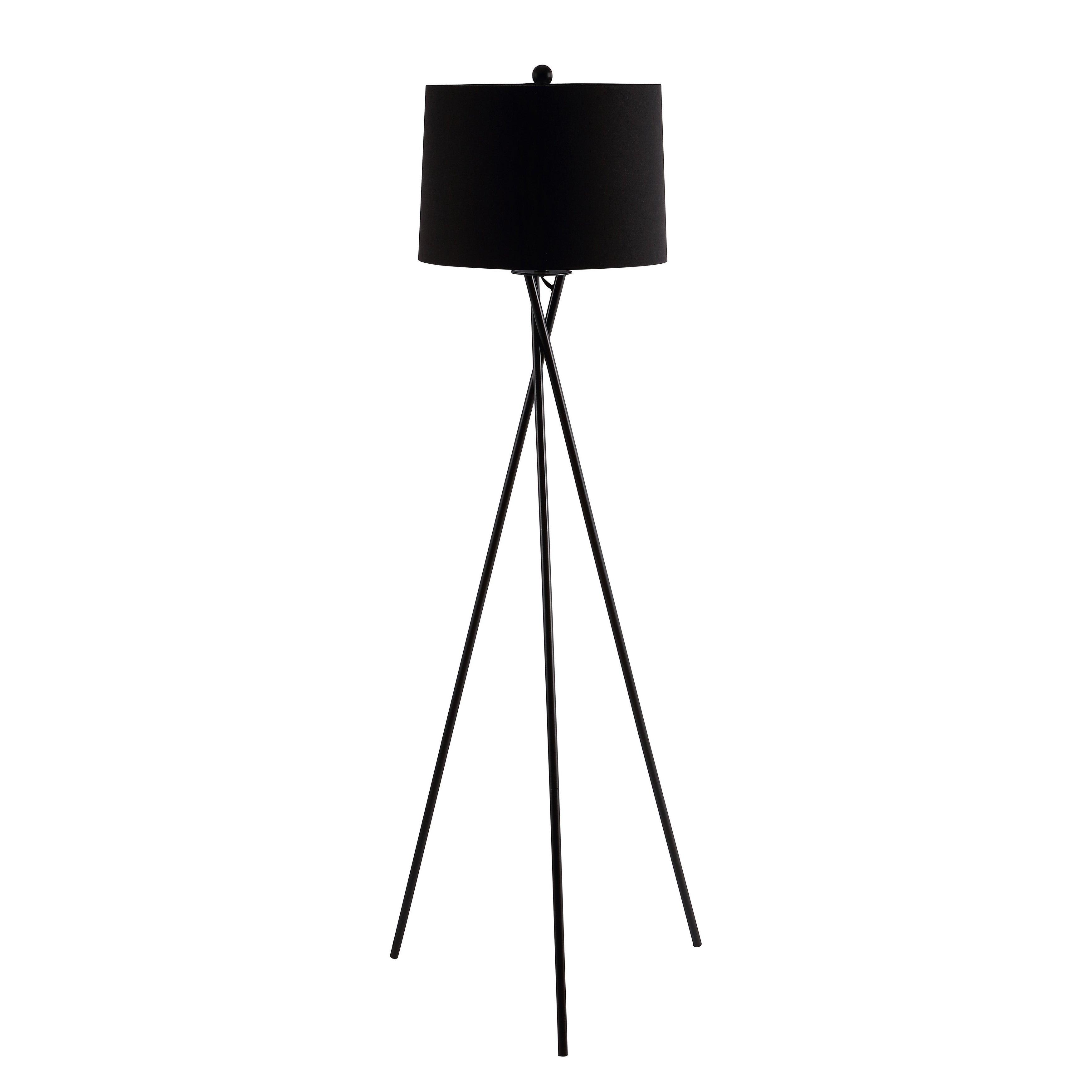 Safavieh Lighting Parsen Tripod 62 Inch Led Floor Lamp 22 W X 22 L X 61 5 H Overstock 31634063
