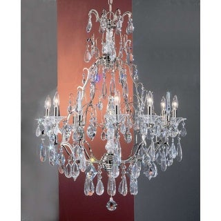 "Classic Lighting 9059-CH 39"" Crystal Chandelier from the Garden of Versailles Collection"
